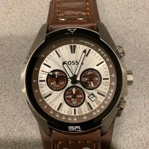 Fossil Mens watch. Like new, excellent condition